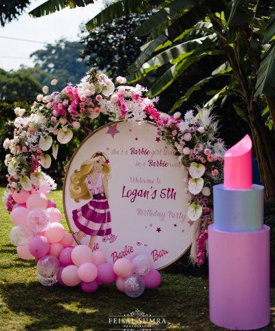 Aura + Chic Barbie Birthday